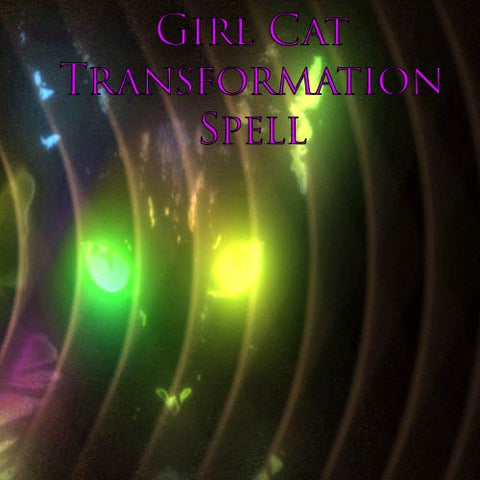 Girl Cat Transformation Spell