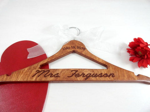 May 19 2016 Mrs Ferguson handmade cherry wood hanger