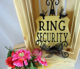 Funny Ring Bearer Sign Ring Security Wedding Sign Wedding Ring Bearer Sign Flower Girl Sign Wedding Photo Props