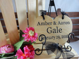 ribbon hanger signs