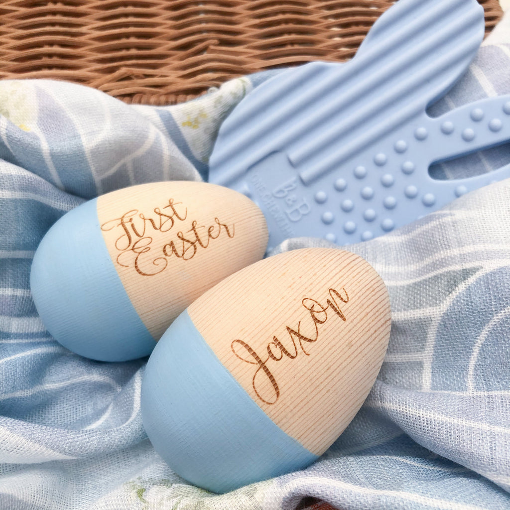 Personalised Babynoise Duo Egg Shakers