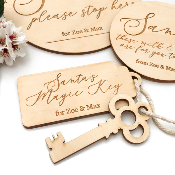 Personalised Santa's Magic Key (various designs)