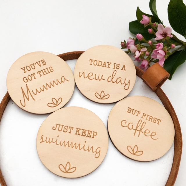 Mumma Mantra MINI Magnets -  - ONE.CHEW.THREE Boutique teething, modern accessories