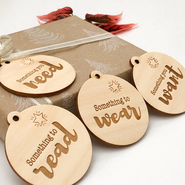 Simplicity Gift Tags - Timber
