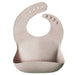 mushie Silicone Bib - Prints -  - ONE.CHEW.THREE Boutique teething, modern accessories