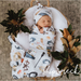 Jersey Swaddle Wrap & Topknot/Beanie Set - Snuggle Hunny Kids