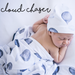 Jersey Swaddle Wrap & Topknot/Beanie Set - Snuggle Hunny Kids -  - ONE.CHEW.THREE Boutique teething, modern accessories