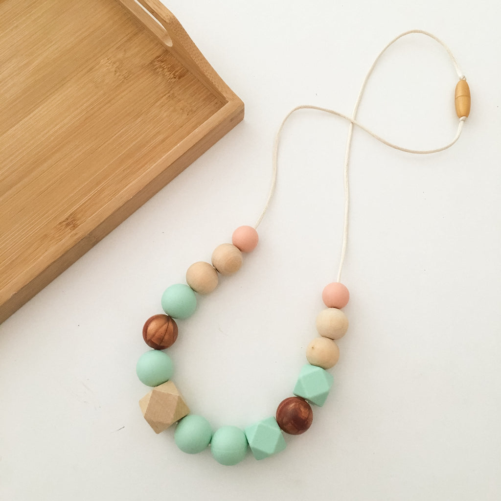 ADDISON Silicone Necklace - Necklaces - ONE.CHEW.THREE Boutique teething, modern accessories