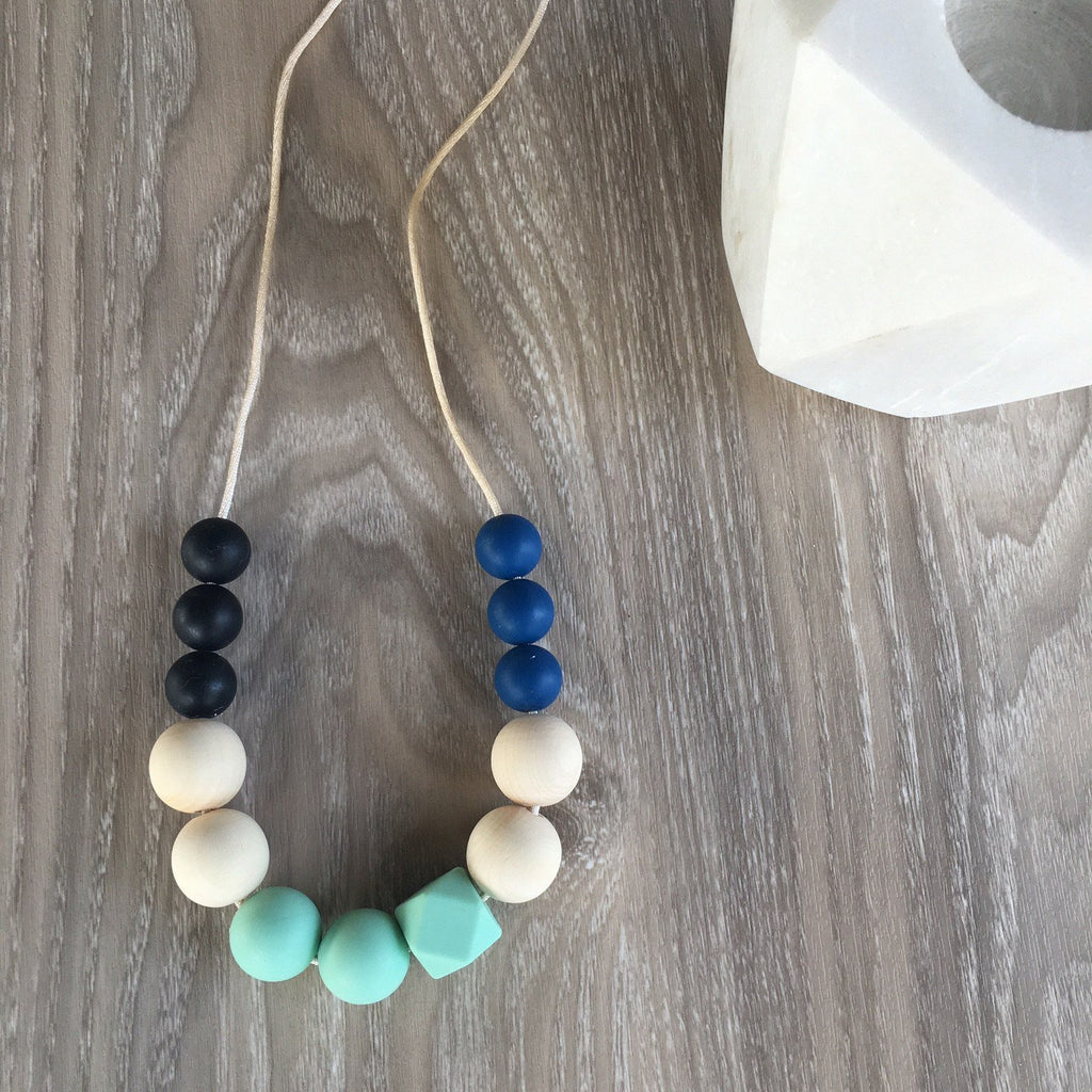 MIA Silicone Necklace - Necklaces - ONE.CHEW.THREE Boutique teething, modern accessories