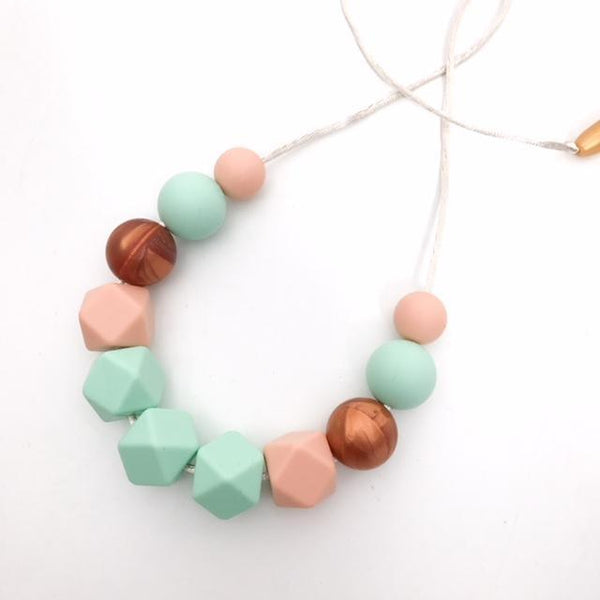 RUBY Silicone Necklace - Necklaces - ONE.CHEW.THREE Boutique teething, modern accessories