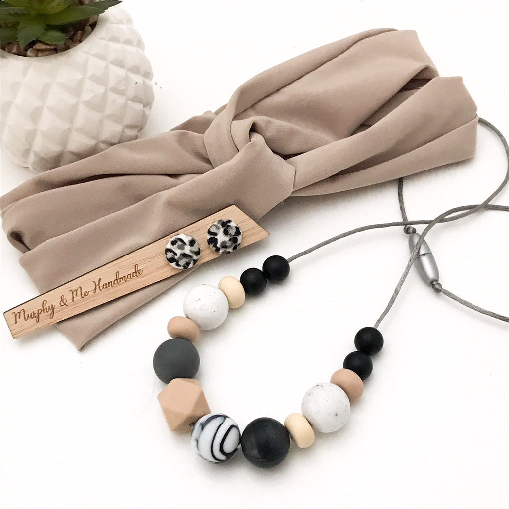 WILD MUMMA Silicone Necklace Gift Set - Necklaces - ONE.CHEW.THREE Boutique teething, modern accessories
