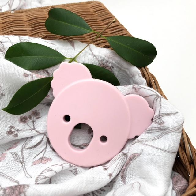 k-BEAR Silicone Teething Disc - Teethers - ONE.CHEW.THREE Boutique teething, modern accessories