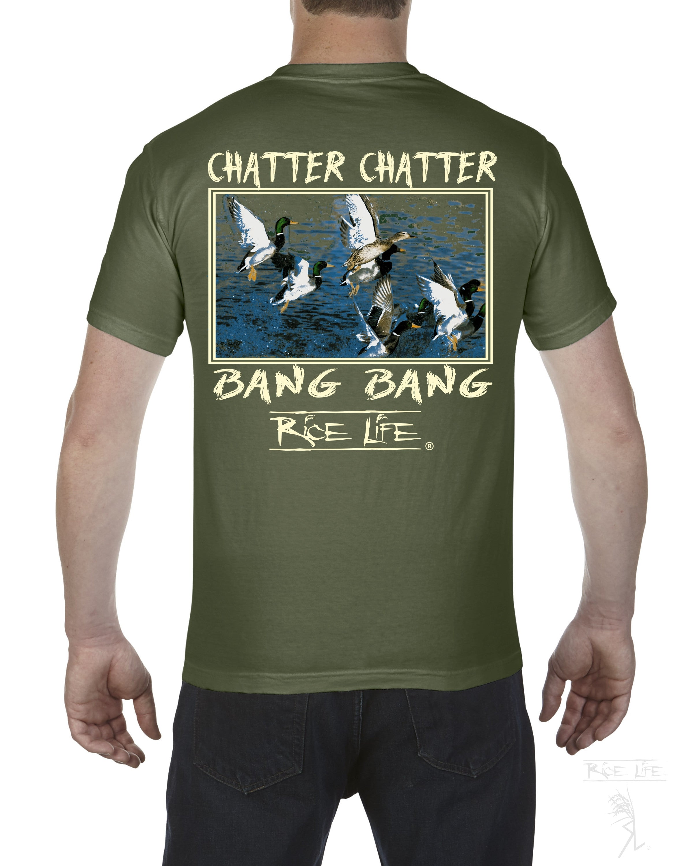Chatter Chatter Bang Bang Men's Short Sleeve T-Shirt