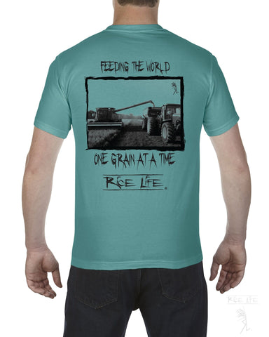 Feeding the World Men's Short Sleeve T-Shirt