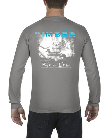 Into The Timber Mens Long Sleeve Shirt