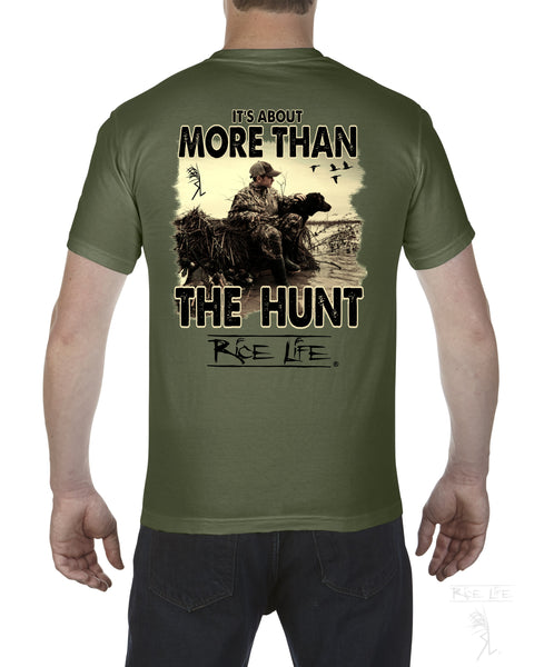 It's About More Than The Hunt Mens Short Sleeve TShirt