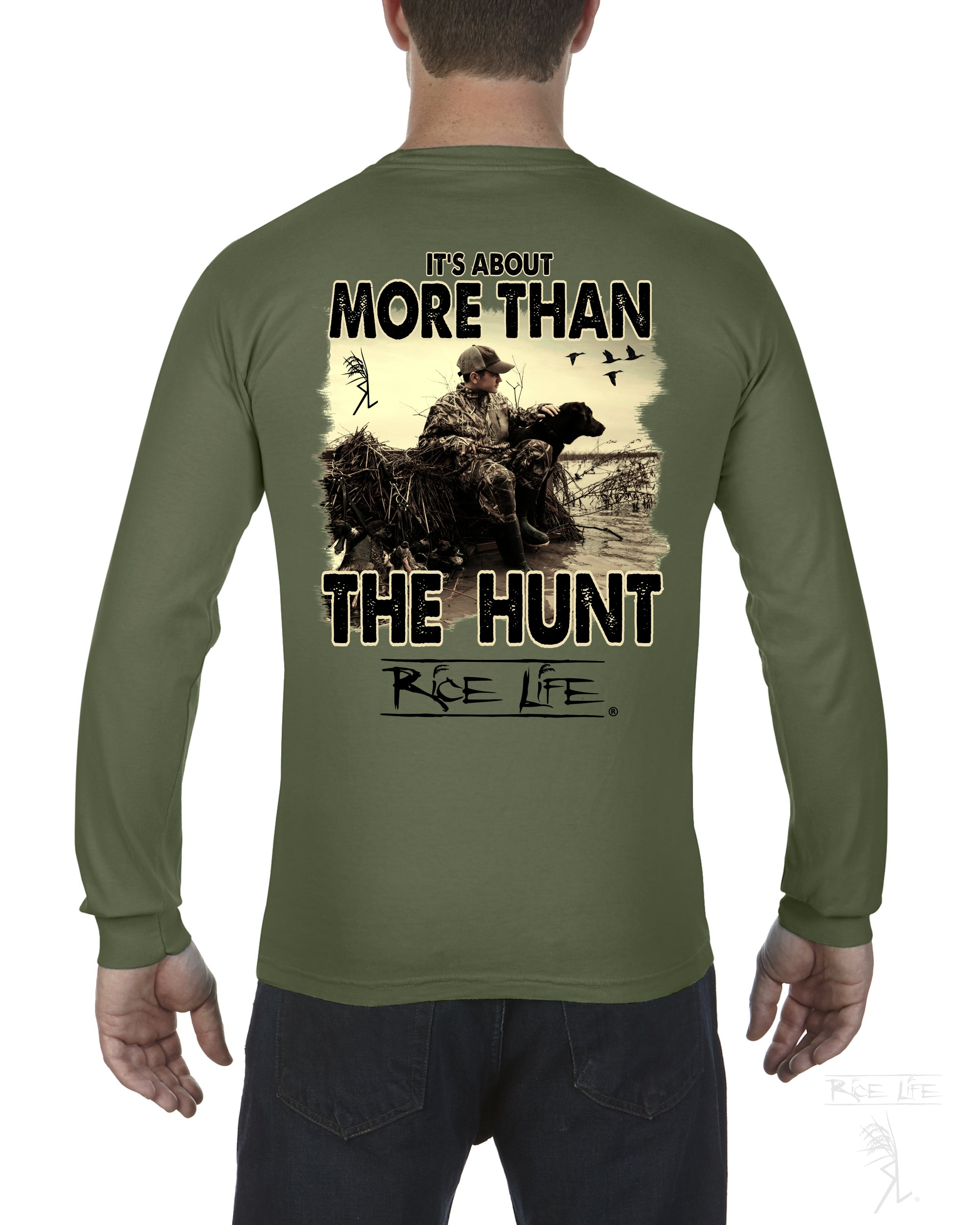 It's About More Than The Hunt Mens Long Sleeve T-Shirt