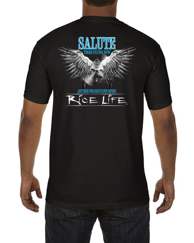 Salute Mens Short Sleeve T-Shirt