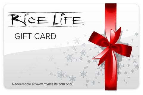 Rice Life Gift Card