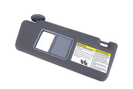 Driver Side Sun Visor Gray Without Light - Fits Toyota Tacoma 2005- 2012 - Replaces 74320-04181-B1