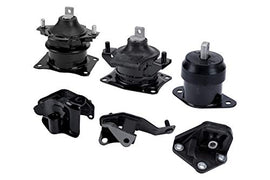 Engine Motor and Transmission Mount Set of 6 - Fits Honda Accord 2003-2007 2.4L