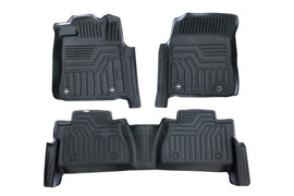 Front & Rear Floor Liner Set for Toyota Tundra 2014-2019