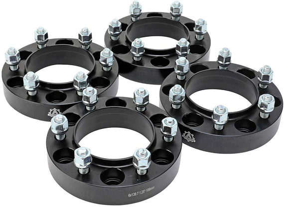 Wheel Spacer Set - 1.25 inch Thick 32mm Wheel Hubcentric 6x139.7mm - Fits Toyota