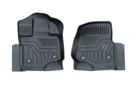 Front & Rear Floor Liner Set For Ford F-150 2015-2020
