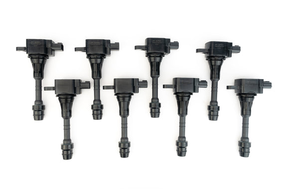 Ignition Coil Pack Set of 8 - Fits Nissan Titan, Armada & Infiniti QX56 5.6L