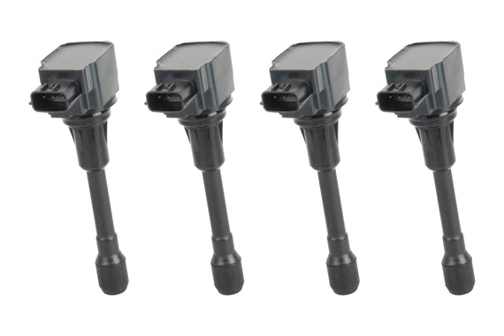 Ignition Coil Set of 4 - Fits 2007-2017 Nissan & Infiniti Replaces# 22448JA00C