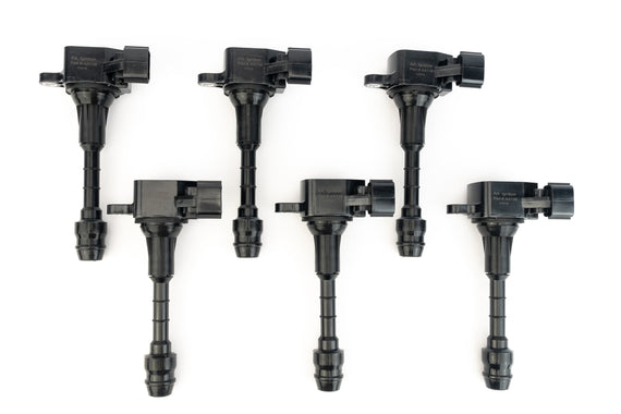 Ignition Coil Set of 6 - Fits Infiniti & Nissan 3.5L V6 2003-2008 Vehicles