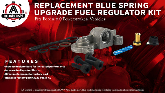 F350 F450 3C3Z9T517AG F550 2003-2007 Replaces 3C3Z-9T517-AG 6.0 Blue Spring Kit Upgrade//Fuel Regulator Kit For Ford Blue Spring Kit 6.0 Powerstroke F250