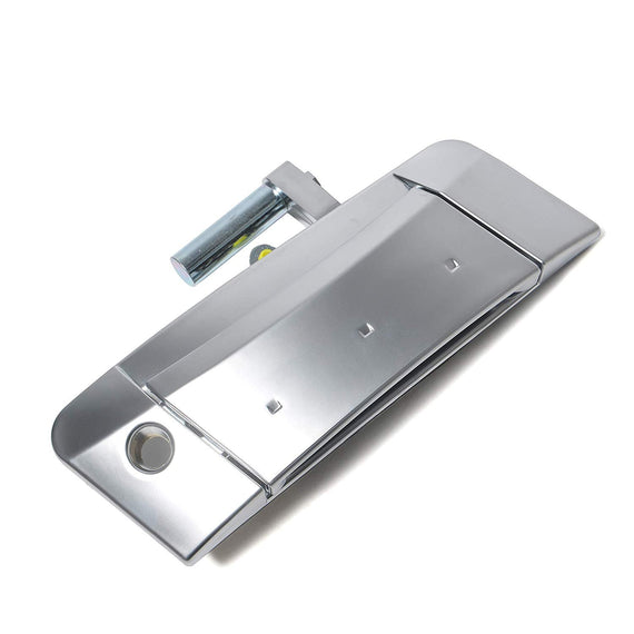 80607-CD40E 2004 2006 2009 Nissan 350Z Exterior Door With Key Hole Replaces# 80607-CD41E 2008 2005 Replacement Driver Side Door Handle Fits for 2003 2007
