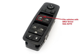 Driver Side Master Power Window Switch - Replaces Part# 4602632AH, 4602632AG, 4602632AF