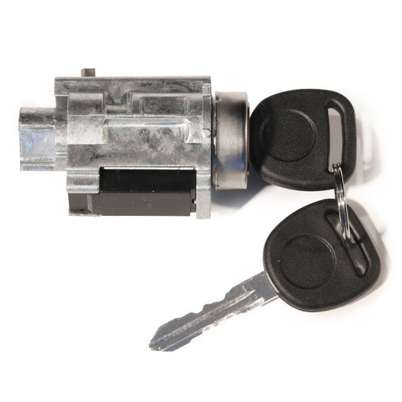Lock Cylinder With Keys & Chip - Replaces# D1493F, 12458191 - Fits Chevy & GM