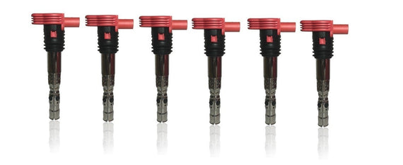 Ignition Coil Pack Set of 6 - Replaces# 06C905115M Audi 3.0L V6 Vehicles