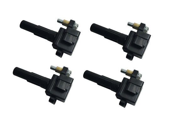 Ignition Coil Pack Set of 4 - Subaru Impreza WRX, WRX Wagon - Replaces# 22433AA421