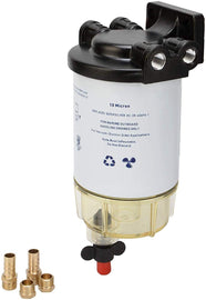 Fuel Filter Water Separator Kit with Aluminum Head - 3/8 Inch NPT Port