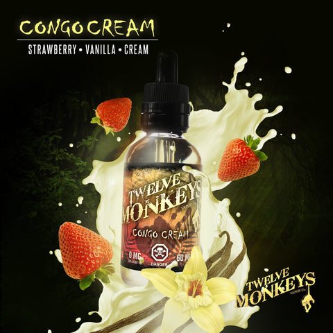 E-Juice Congo Custard - 70 VG
