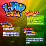 E-Juice T-Pup Strawberry Limesaver 60ml by T Daawg Labs
