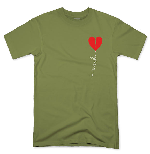 YISM - Broken Heart Balloon (MILITARY GREEN)