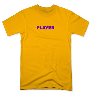 YISM - EMBROIDERED PLAYER TEE