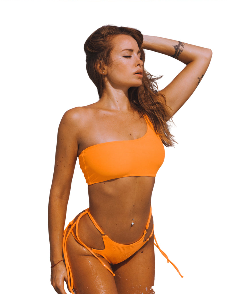 One Shoulder - Bruna Bikini Top