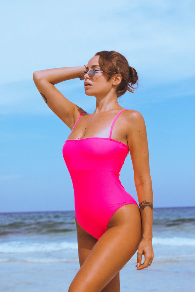 Square Neck Bridgit One Piece Swimsuit
