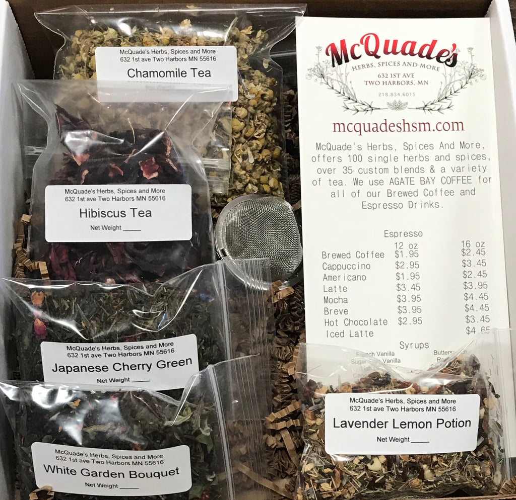 Tea Sample Gift Box