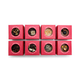 (NO GLUTEN ADDED) Artisan Chocolate Medallions - Assorted (Set of 8 Mini Boxes) - Solasta Chocolate, Vancouver