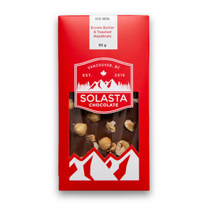 Single Chocolate Bar (Custom Selection) - Solasta Chocolate, Vancouver