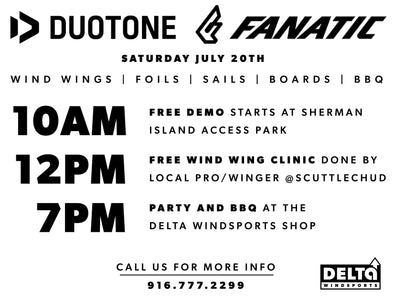Duotone & Fanatic Demo 7/20