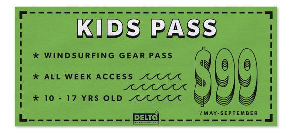 Delta Windsurf Kids Pass