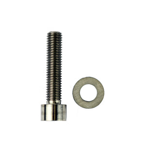 Hover Glide M10 x 45mm Titanium Bolt (socket) + Fender Washer